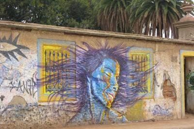 Graffiti in Valparaiso Chile