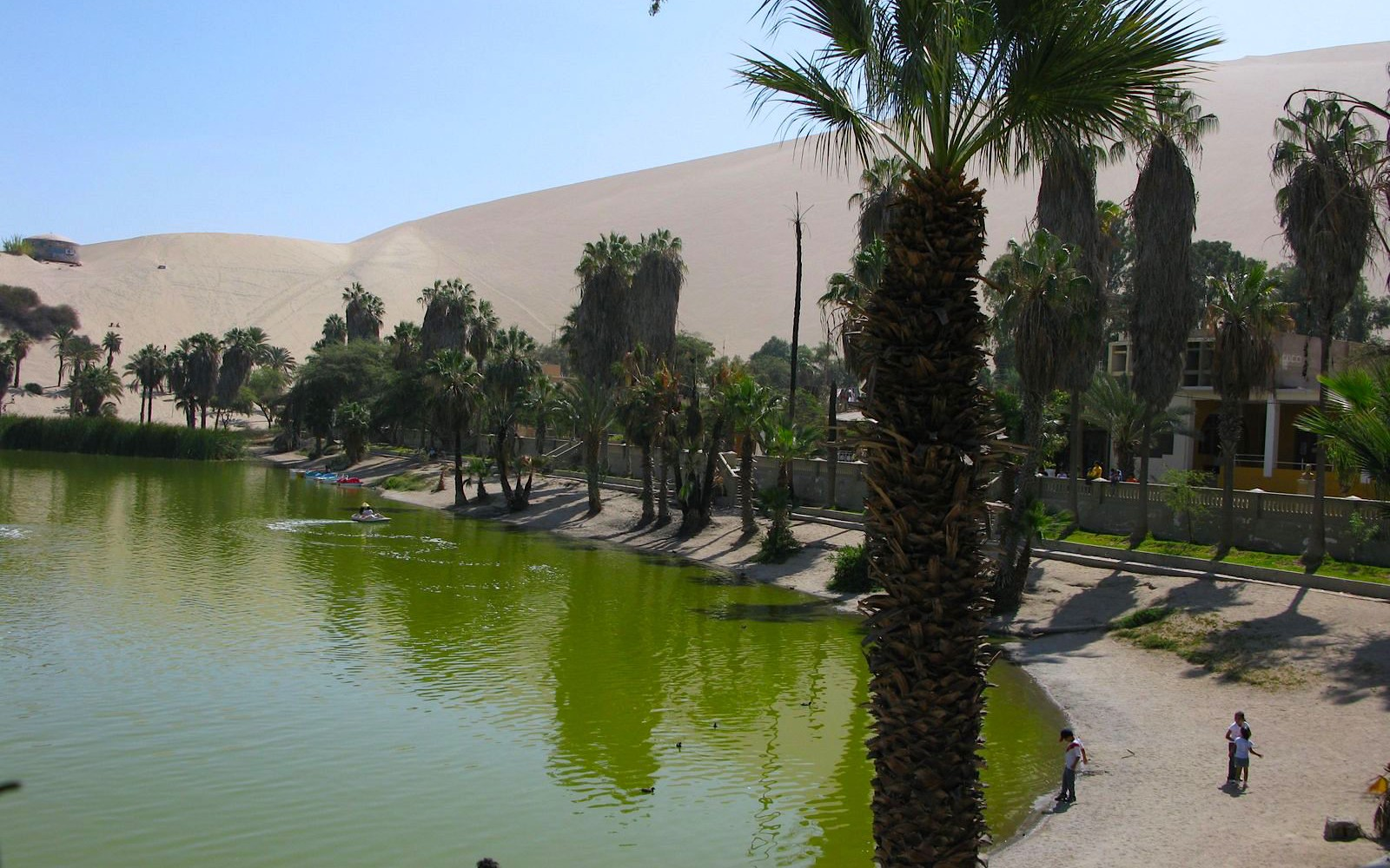 Sand, Sand, Everything in Huacachina is Sand!