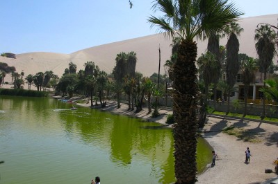 huacachina and sand dunes
