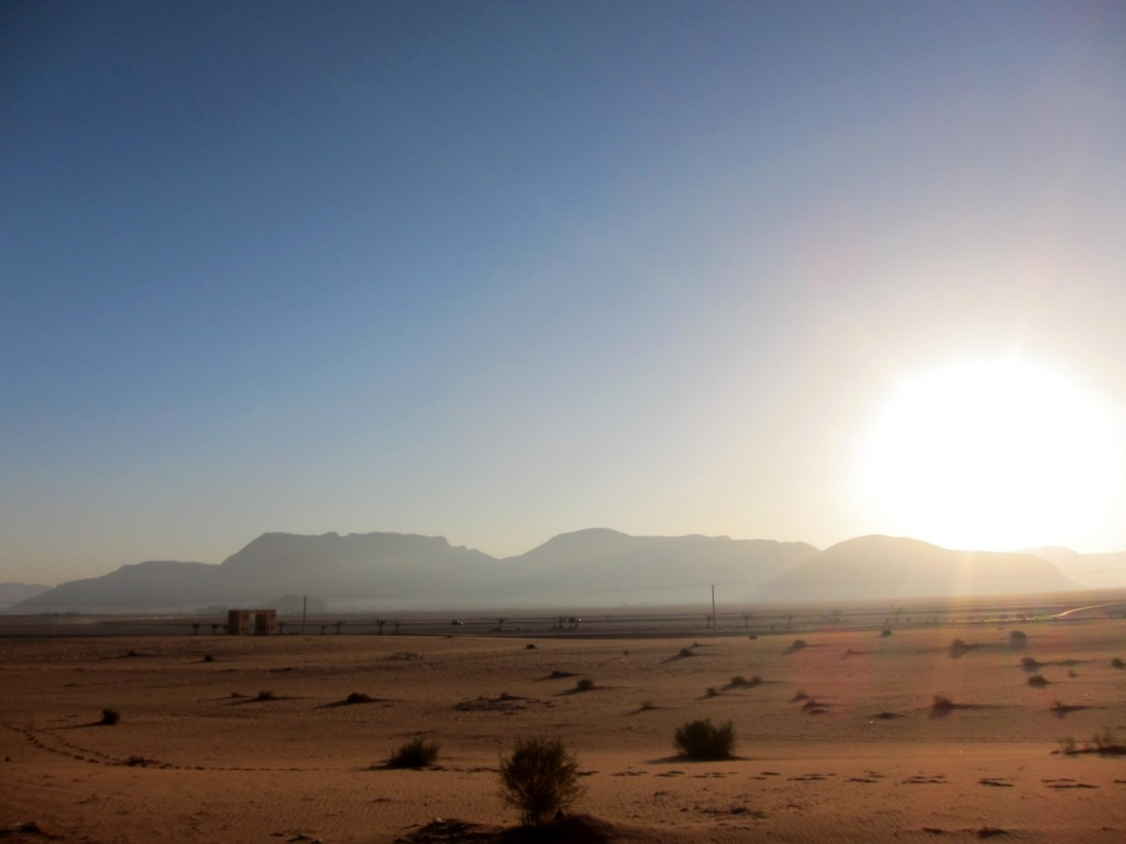 Desert in the Middle East