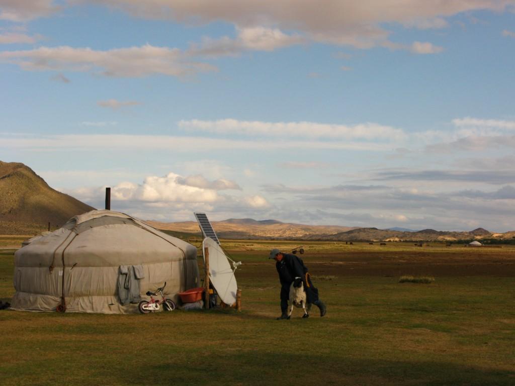 mongolia and my yurt
