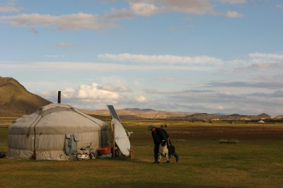 mongolia and my yurt