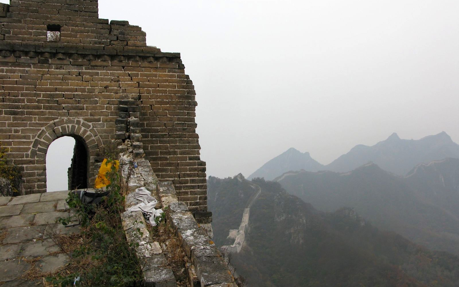 Camping out on the Great Wall of China (Not so Legally)