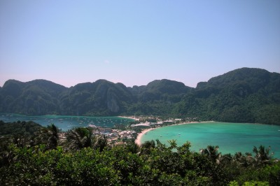 Ko Phi Phi on the Andaman Islands