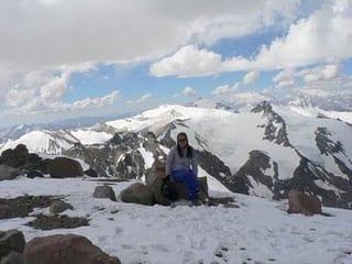 An Acongacua climb in Argentina