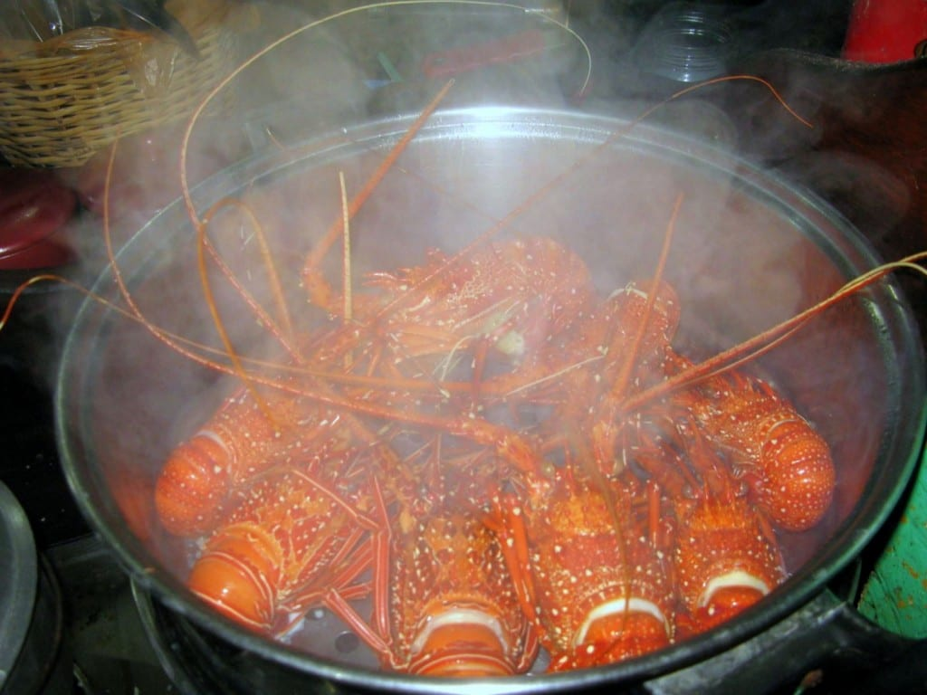 El Nido Lobster Feast in Palawan