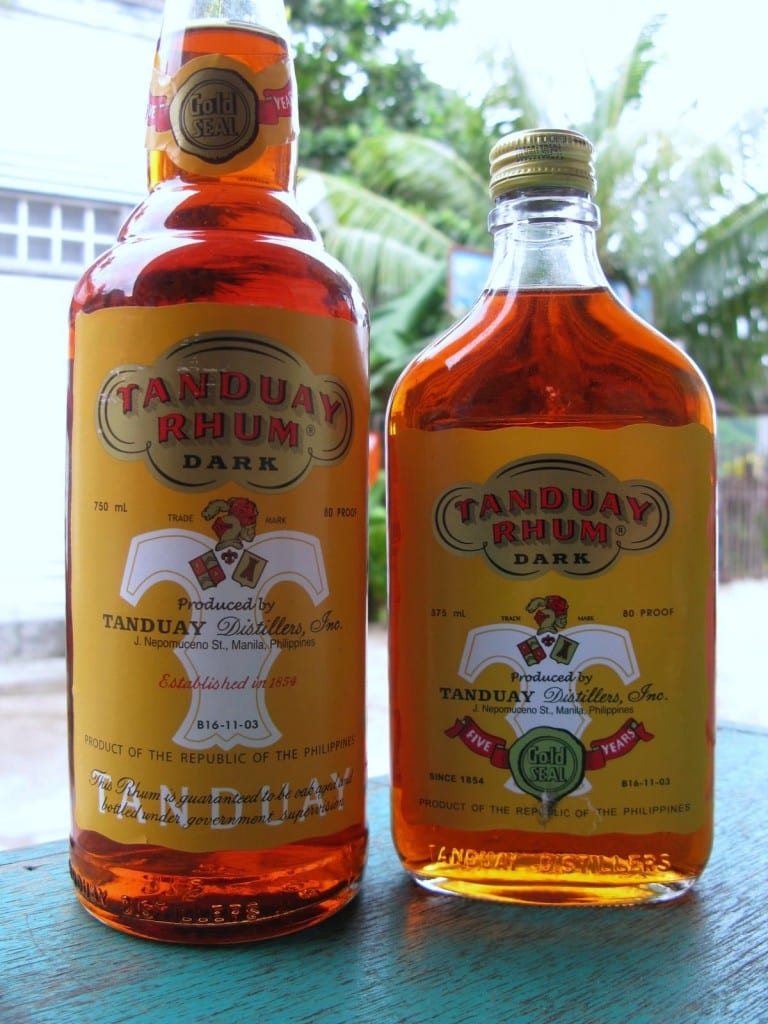 tanduay rum in the philippines