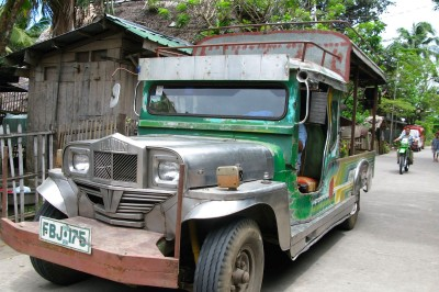 Manila cab driver
