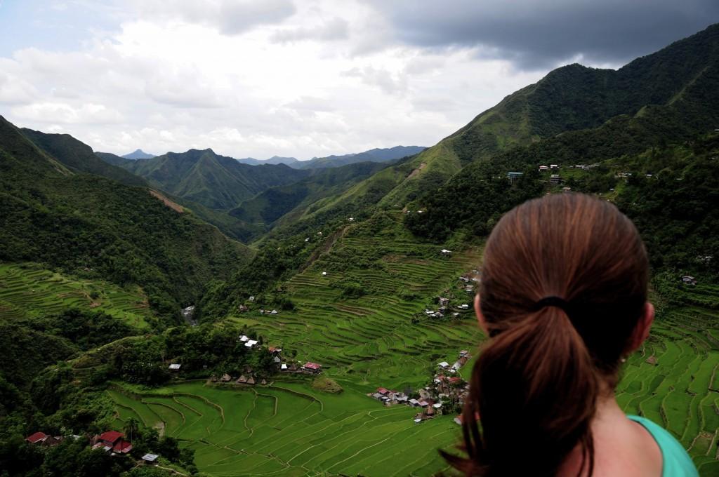 Overlooking Batad The Philippines