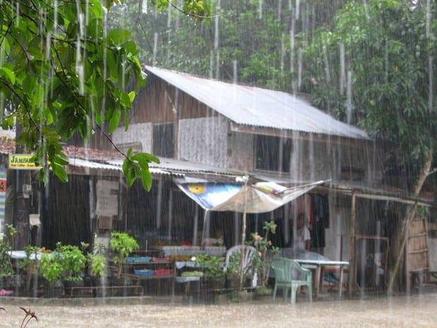 Typhoon season in the Philippines