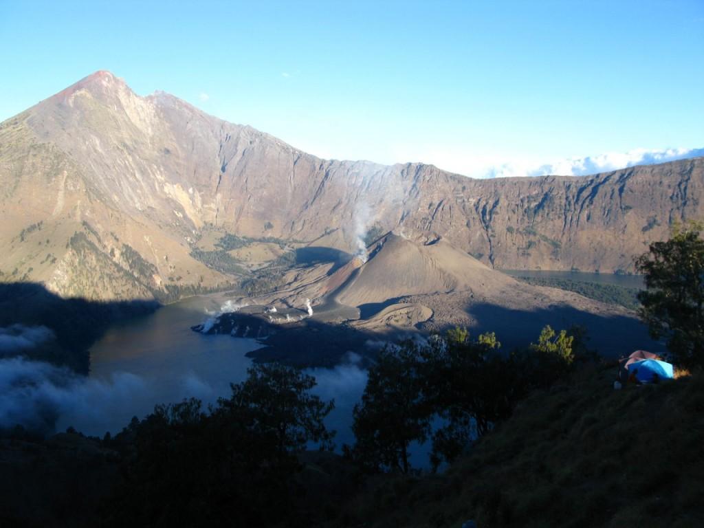Gunung Rinjani in Lombok