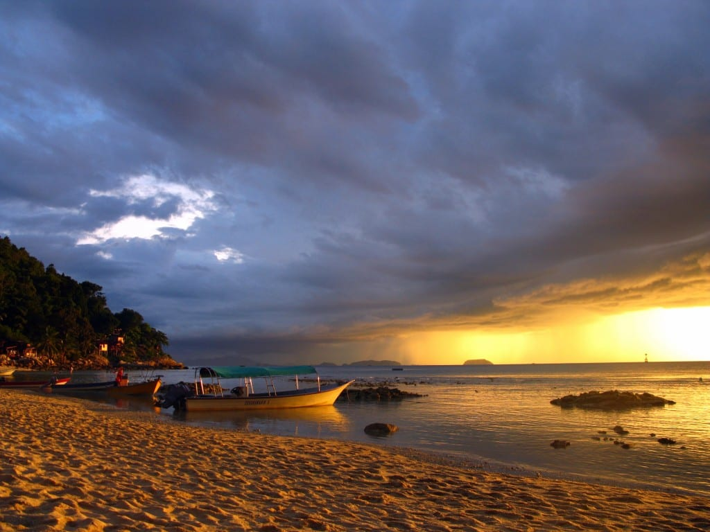 Beautiful Coral Bay on Perhentian Kecil