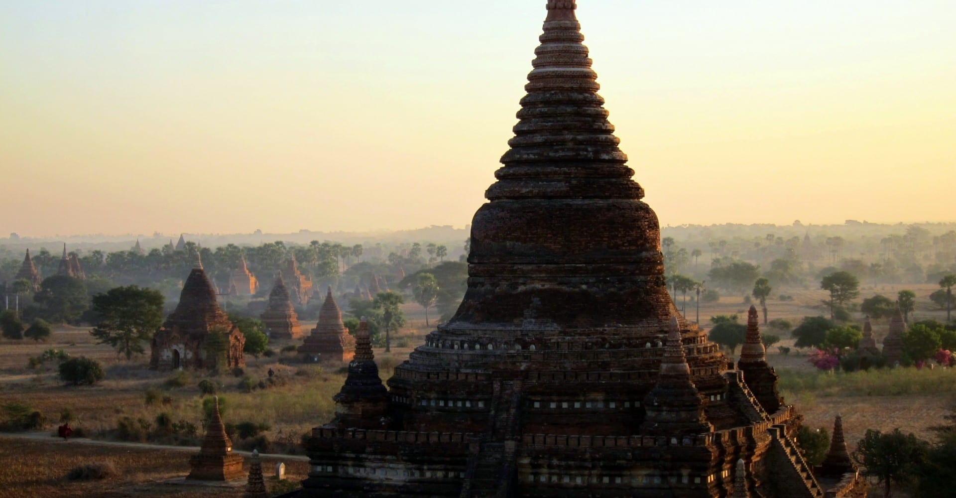 The Crumbling Ochre Temples of Bagan, Burma