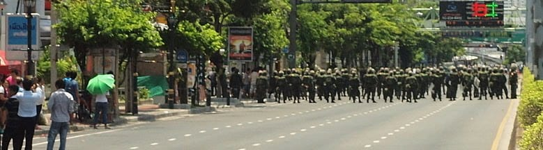 More Deadly Clashes in Central Bangkok