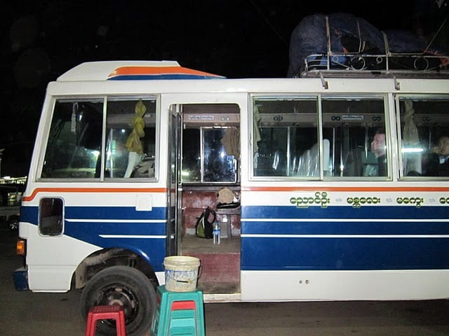 My 5 Worst Bus Rides in Burma (Myanmar)