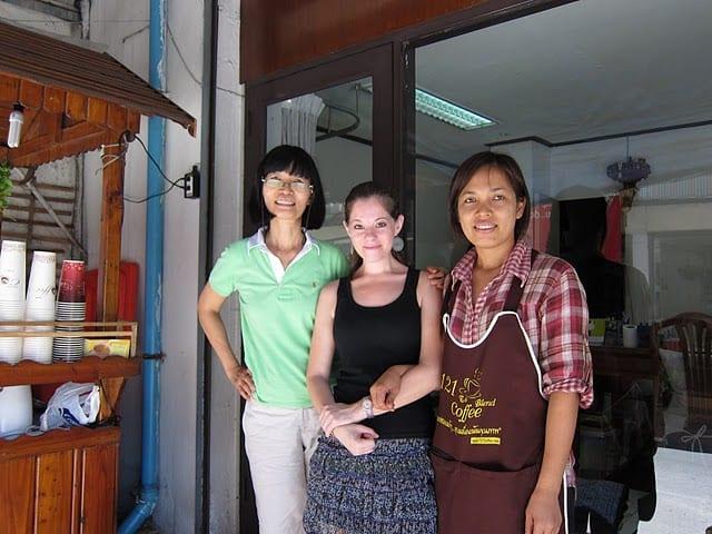 Coffee, translation and culture shock in Bangkok