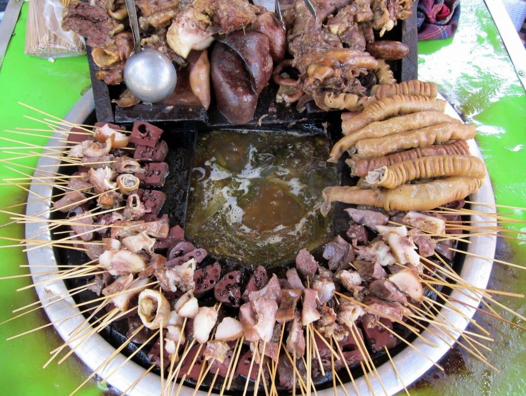 Snacktime in Yangon Myanmar