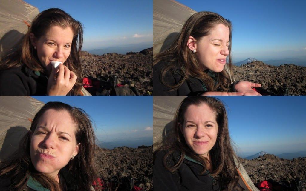 Marshmallows at 10300 feet