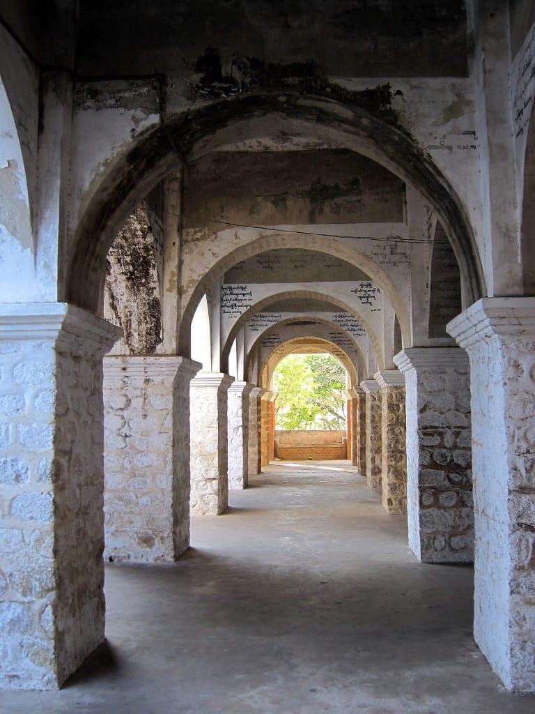 Hallway atop Mandalay Hill