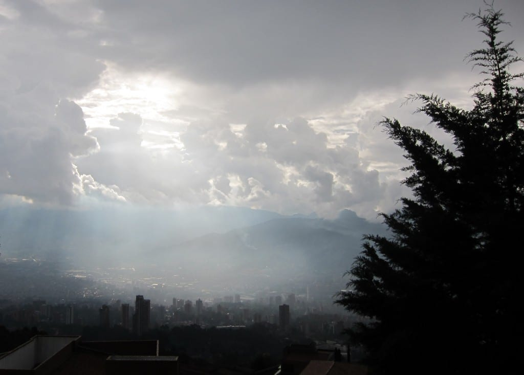 Medellin after the rain.