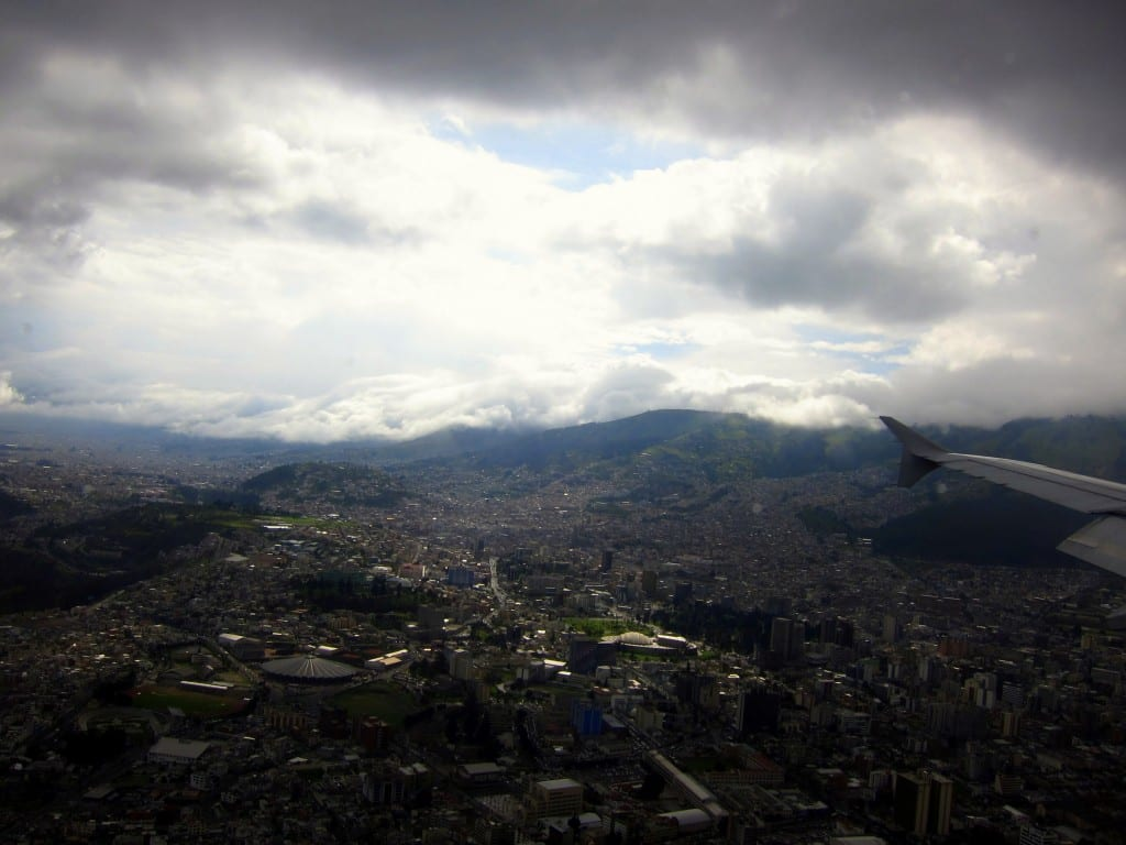 Getting closer to Quito and Mariscal Sucre airport