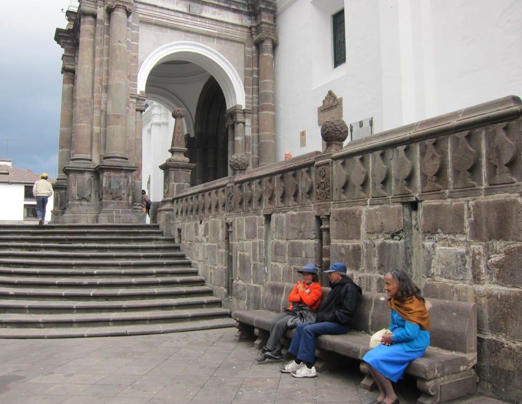 Plaza Santo Domingo, quito