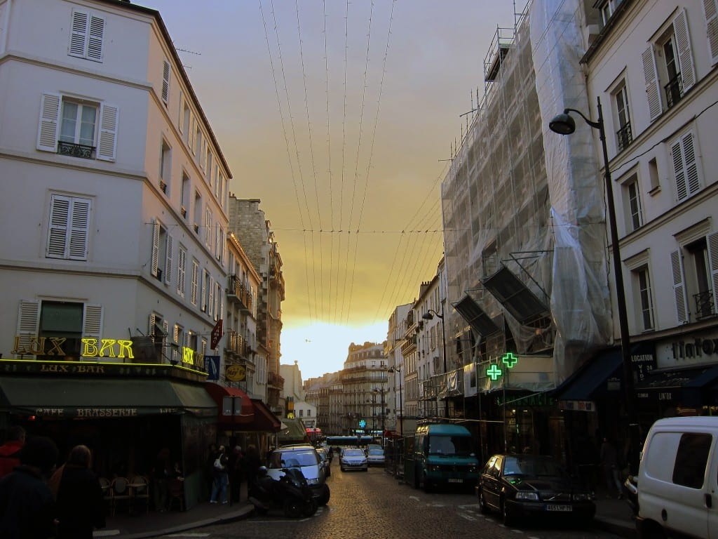 Montmartre Paris in Late Afternoon