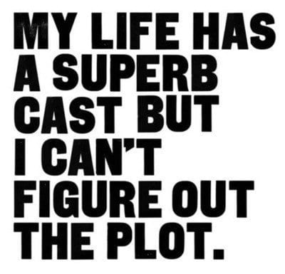 my life has a great cast but i can't figure out the plot