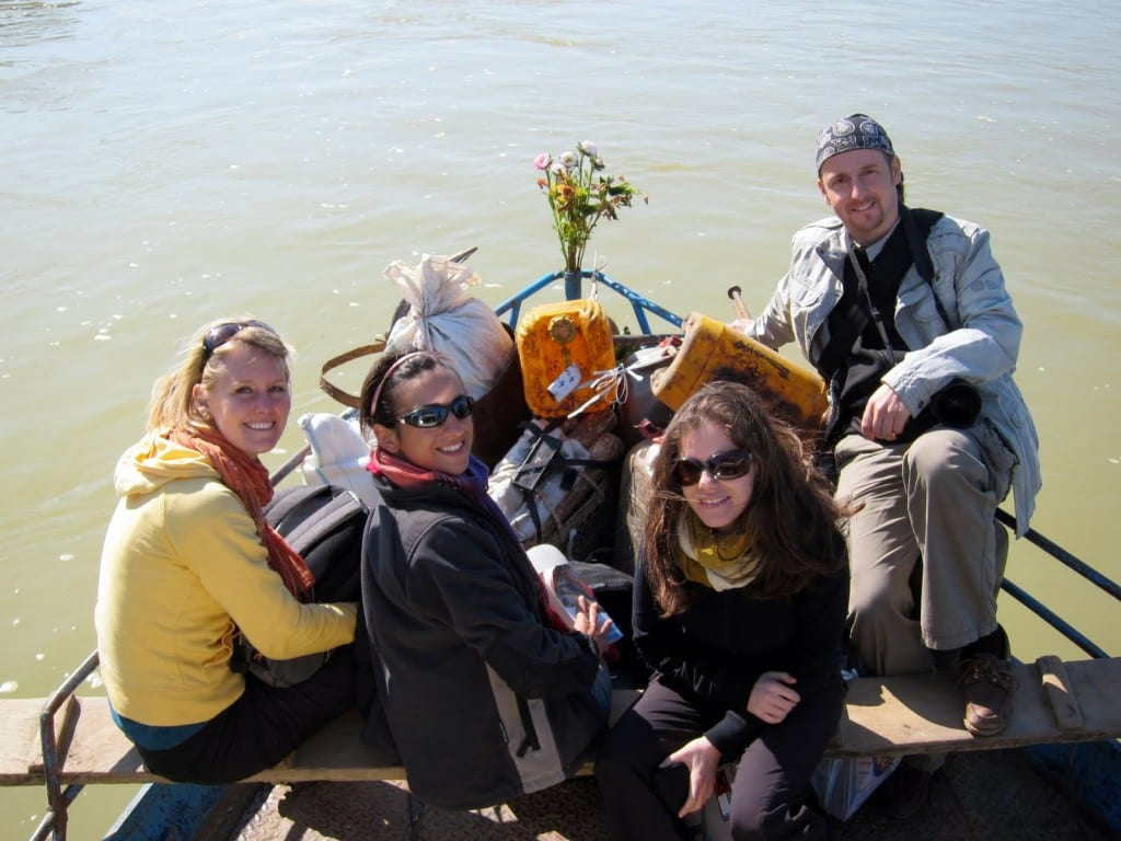 Before disaster strikes, on a boat to Bhamo, Burma