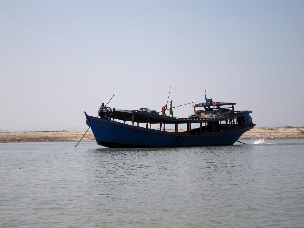 slow ferry from bhamo to mandalay