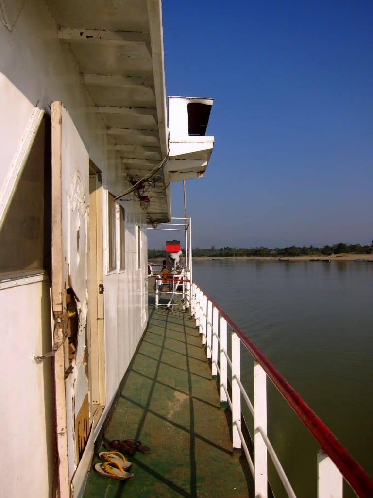 On the slow boat to Mandalay
