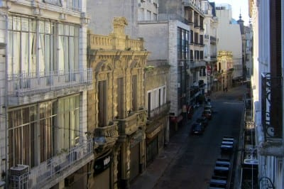 View from Hotel Splendido Montevideo