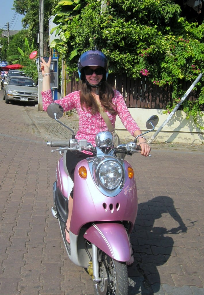 Renting a Motorcycle in Chiang Mai