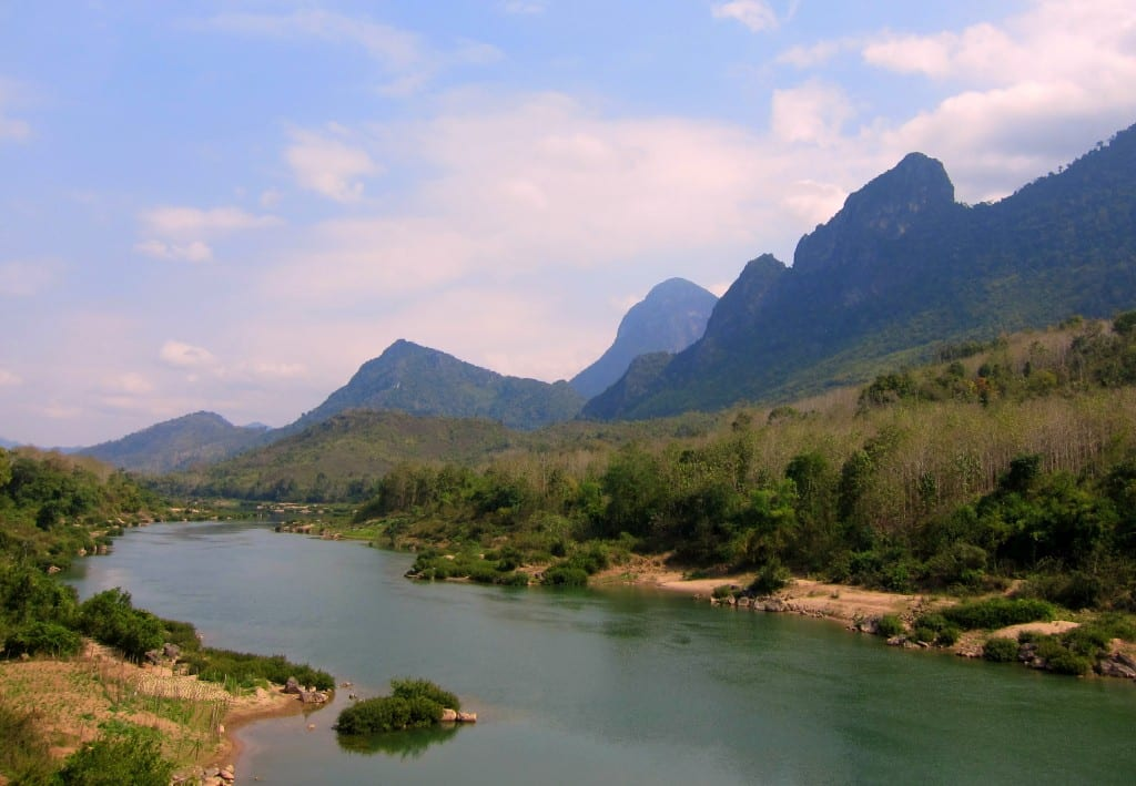 Beautiful view on the way to Nong Khiaw