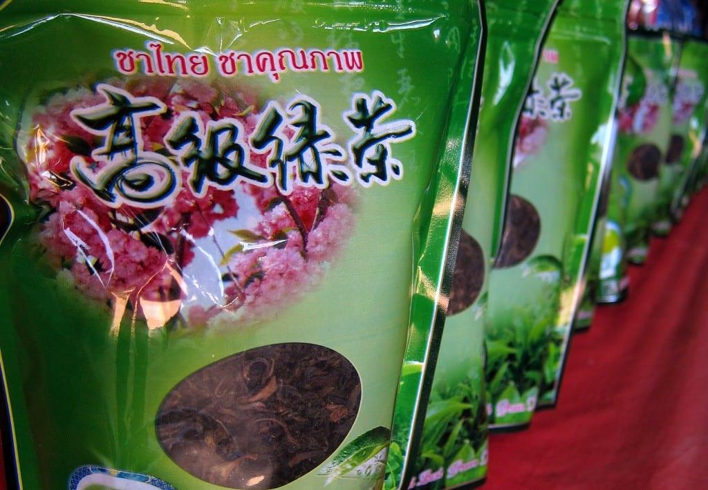 tea tourism in mae aw / ban rak tai