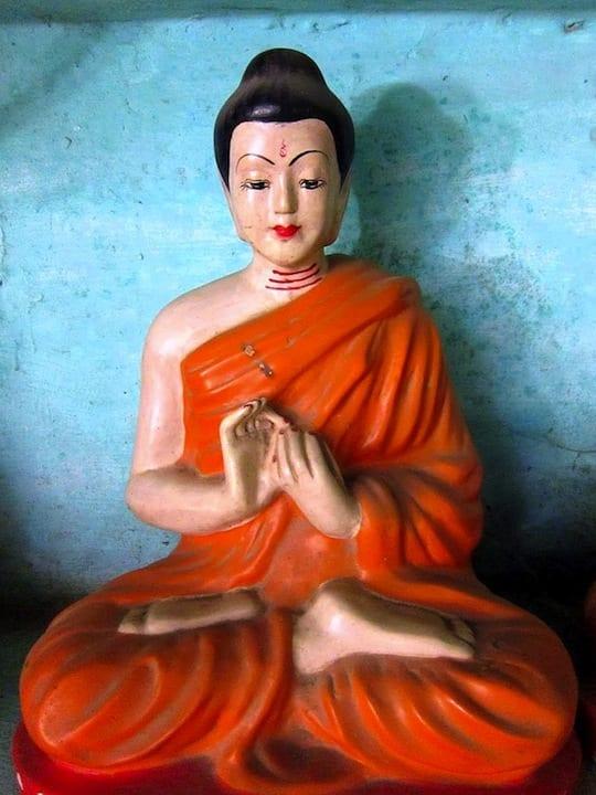 Buddha from Shweyinhmyaw Pagoda