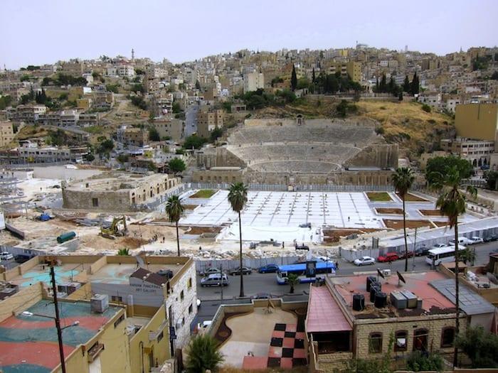 Ancient Theatre in the Center of Amman