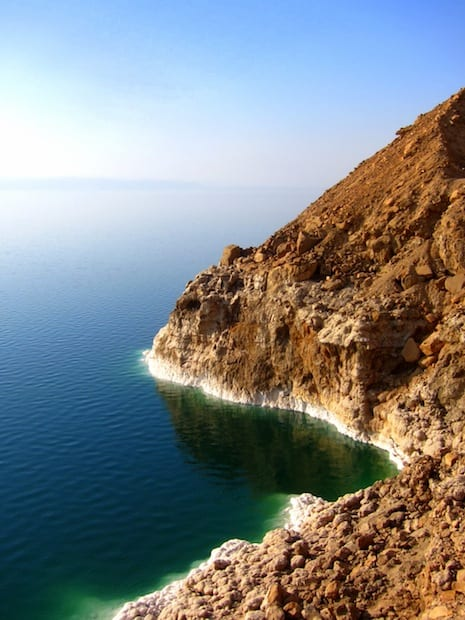 Overlooking the Dead Sea in Jordan