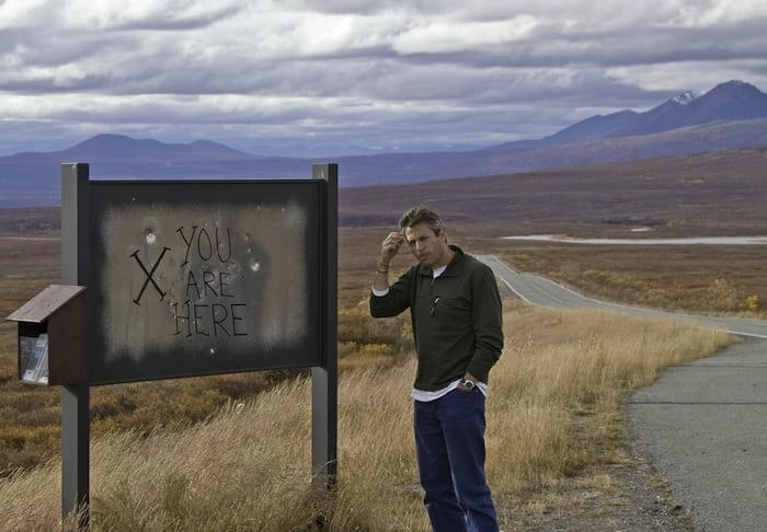 Eric Mohl on the Denali Highway (a little lost)