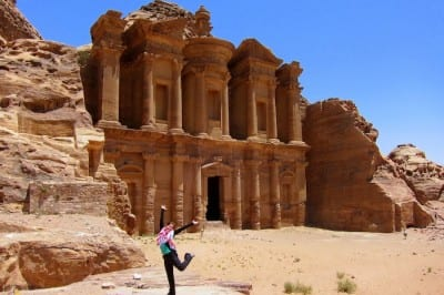 The Monastery at Petra, Jordan