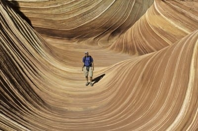Eric Mohl at The Wave, Arizona