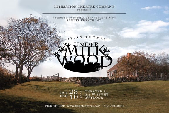Dylan Thomas' Under Milk Wood, directed by Michelle Dean