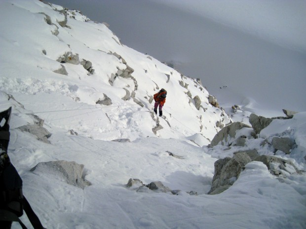 Getting hypothermia in Nepal