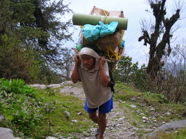Makalu base camp trek in Nepal