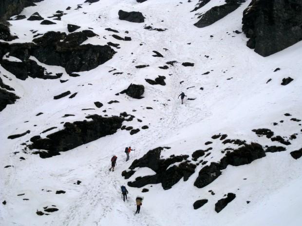 Shipton La, a 4200m pass in Nepal