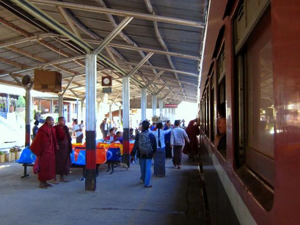 Train to Myitkyina