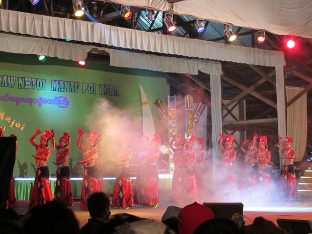 Kachin State Fair in Myitkyina