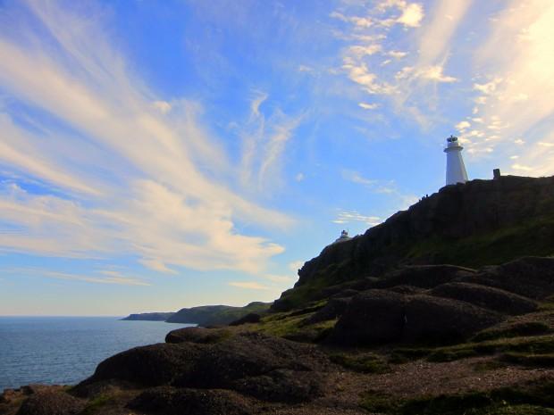 Lighthouse at Cape Spear, Newfoundland