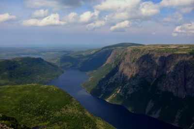 Fjords in Gros Morne National Park