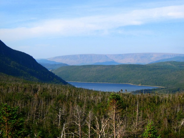 Approaching the base in Gros Morne National Park